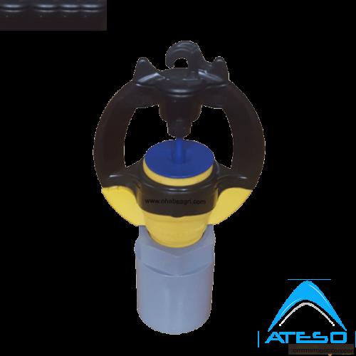 Đầu Tưới Phun Mưa Rivulis S2000 + Khớp Nối Ống 21mm (Có Bù Áp)