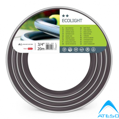Ống Tưới Vườn Chất Lượng Cao Cellfast Ecolight 34″ Dài 20m (10-170)