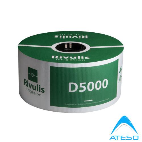 ống tưởi nhỏ giọt Rivulis D5000 Israel, dày 0.90mm, khoảng cách 50cm
