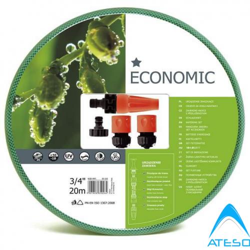 Trọn Bộ Ống Tưới,Vòi Tưới Vườn Cellfast Economic 34″ Dài 20m (10-102)
