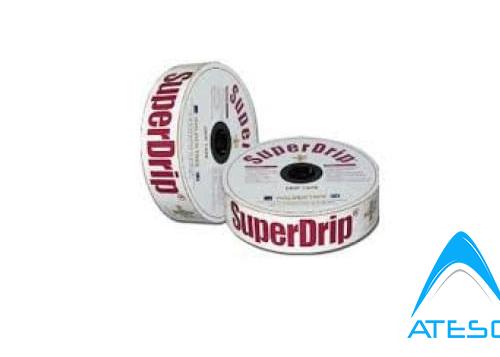 Dây Nhỏ Giọt Dẹt Super Drip 16mm Khoảng Cách 30cm/Lỗ (Dày 0.63mm, 600m/Cuộn
