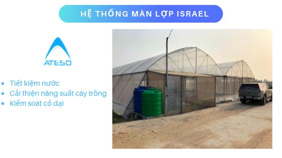 hệ thống màn lợp israel