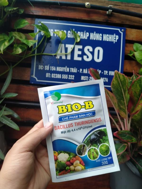 chế phẩm sinh học biob